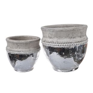 Uma Pots - Natural - Set of Two