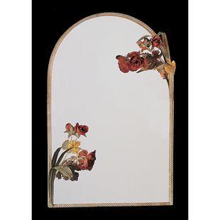Floradora Mirror with Fawn Beige Finish