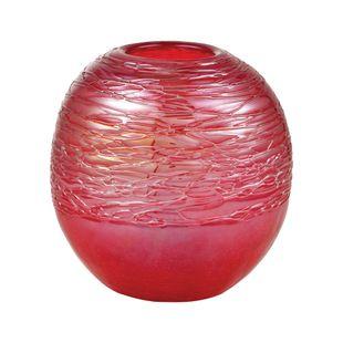 Cerise Ball Vase