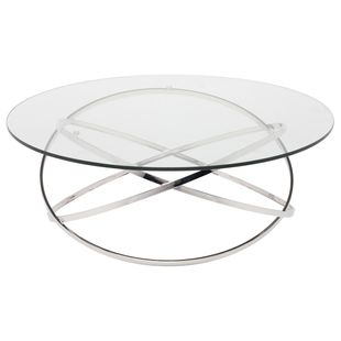 Corel Coffee Table With Glass In Glass