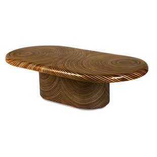Showtime Ribbon Cocktail Table, Oval